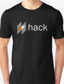 hack programming language sticker Unisex T-Shirt
