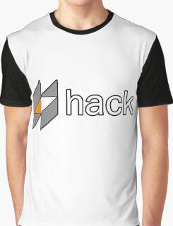 hack programming language sticker Graphic T-Shirt