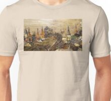 Temples view at Dawn Unisex T-Shirt