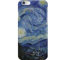VINCENT, Starry Night, Vincent van Gogh, Art, Artist, 1889  iPhone Case/Skin