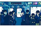 Rush Hour on the Tokyo Metro by anthonysjb
