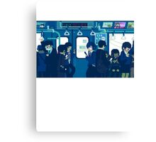Rush Hour on the Tokyo Metro Canvas Print