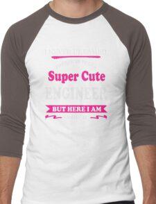 Super cute Engineer Men's Baseball ¾ T-Shirt