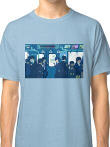 Rush Hour on the Tokyo Metro Classic T-Shirt