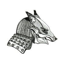 Fox Kabuto Sticker