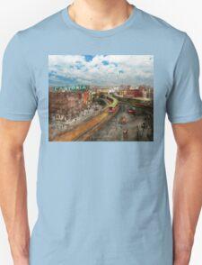 City - NY - Chatham Square 1900 Unisex T-Shirt