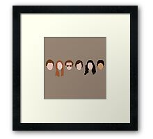 The Gang (That '70s Show) Framed Print