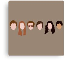 The Gang (That '70s Show) Canvas Print