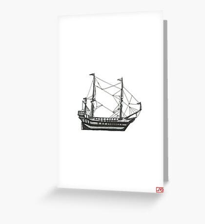 set sail Greeting Card