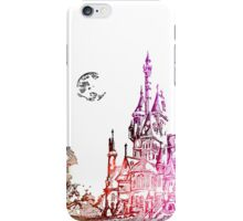 Castle with color iPhone Case/Skin
