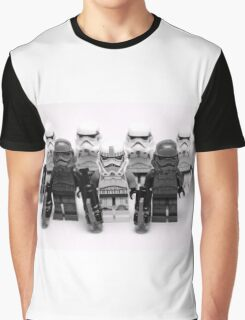 Lego Star Wars Stormtroopers Group Picture Minifigure Graphic T-Shirt