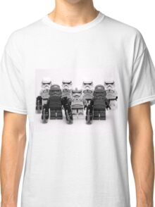 Lego Star Wars Stormtroopers Group Picture Minifigure Classic T-Shirt