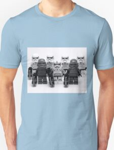 Lego Star Wars Stormtroopers Group Picture Minifigure Unisex T-Shirt