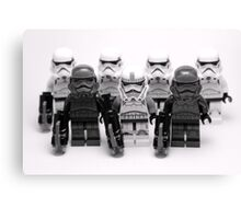 Lego Star Wars Stormtroopers Group Picture Minifigure Canvas Print