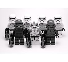 Lego Star Wars Stormtroopers Group Picture Minifigure Photographic Print