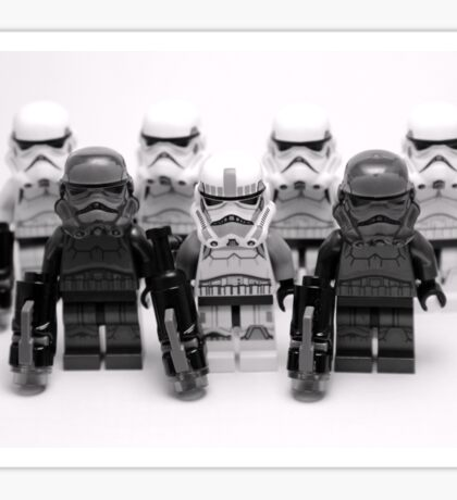 Lego Star Wars Stormtroopers Group Picture Minifigure Sticker