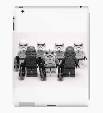 Lego Star Wars Stormtroopers Group Picture Minifigure iPad Case/Skin