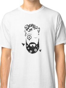 Make Beards not War! (typo edition) Classic T-Shirt