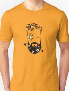 Make Beards not War! (typo edition) Unisex T-Shirt