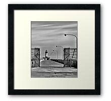Duluth Lighthouse Framed Print