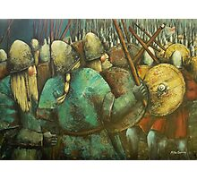 A Viking Skirmish Photographic Print
