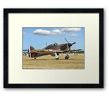 Hawker Hurricane IIa P3351 F-AZXR Framed Print