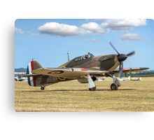 Hawker Hurricane IIa P3351 F-AZXR Canvas Print