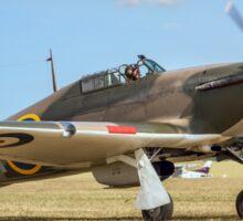 Hawker Hurricane IIa P3351 F-AZXR Sticker