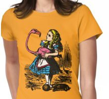 Flamingo Croquet Womens Fitted T-Shirt