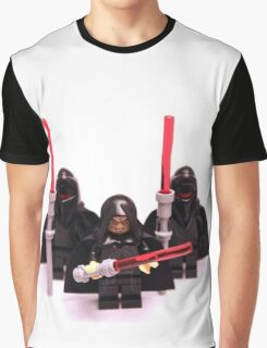 Lego Star Wars Emperor & Shadow Guards March Minifigure Graphic T-Shirt