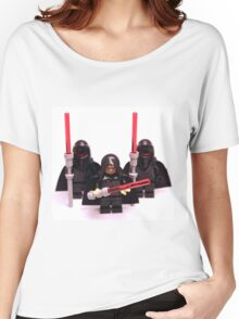 Lego Star Wars Emperor & Shadow Guards March Minifigure Women's Relaxed Fit T-Shirt