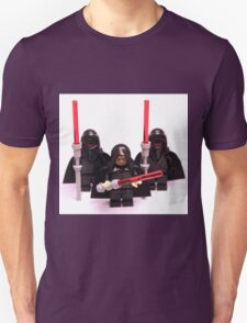 Lego Star Wars Emperor & Shadow Guards March Minifigure Unisex T-Shirt