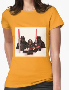 Lego Star Wars Emperor & Shadow Guards March Minifigure Womens Fitted T-Shirt