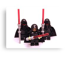 Lego Star Wars Emperor & Shadow Guards March Minifigure Canvas Print