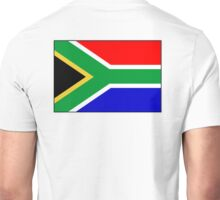 South Africa, South African Flag, Flag of the Republic of South Africa, Africa, African Unisex T-Shirt