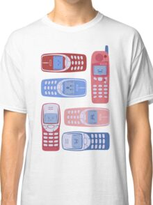 Vintage Cellphone Reactions Classic T-Shirt