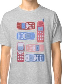 Vintage Cellphone Reactions Classic T-Shirt