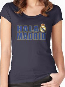 Real Madrid Champ Women's Fitted Scoop T-Shirt