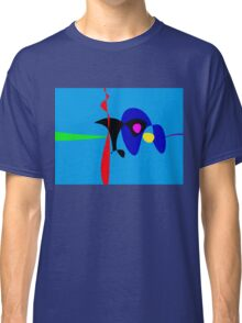 Abstract Expressionism Simple Digital Art Classic T-Shirt