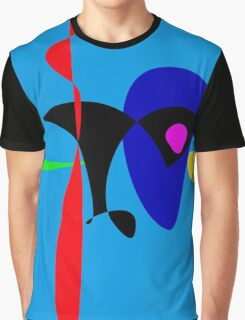 Abstract Expressionism Simple Digital Art Graphic T-Shirt