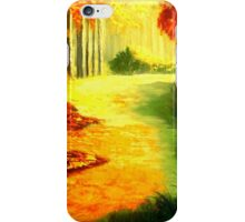"""""""MORNING IN THE WOODS"""" iPhone Case/Skin"""