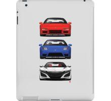 Honda NSX generations  iPad Case/Skin