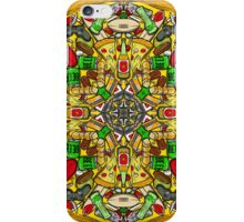 Kaleidescopic Pizza Party iPhone Case/Skin