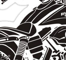 motorcycle Harley Davidson Sticker