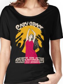 Cary Grace at The King Arthur, Glastonbury (21st May 2016) Poster Women's Relaxed Fit T-Shirt