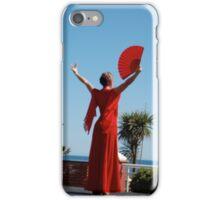 Red Flamenco iPhone Case/Skin