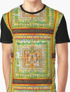 Medicine Buddha's paradise Psychedelic Graphic T-Shirt