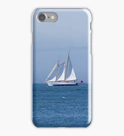Sails in Newport, RI iPhone Case/Skin