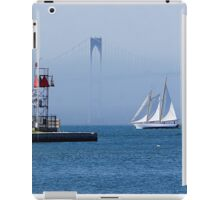 Sails in Newport, RI iPad Case/Skin