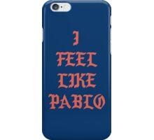 i feel like pablo long sleeve iPhone Case/Skin